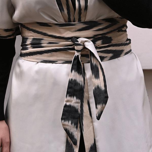 ceinture-obi-ikat-beige-femme