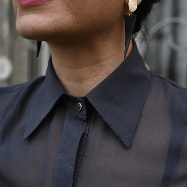 blouse mousseline de soie femme