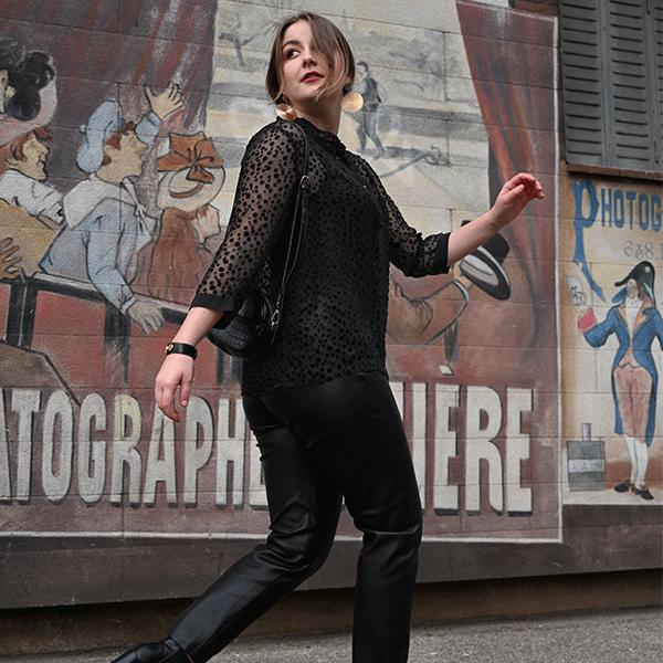 chemise-pepper-soie-noire-femme