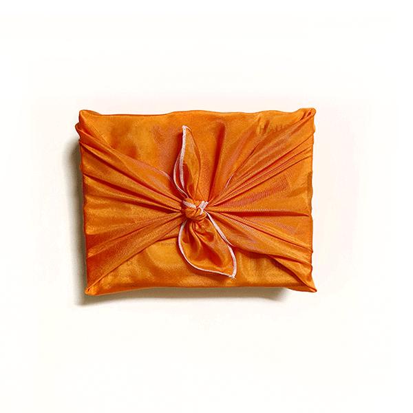 emballage-soie-furoshiki-orange