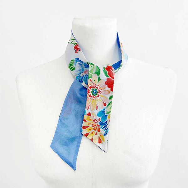 foulard-cravate-soie-fleuri-twilly