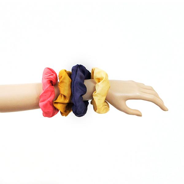 chouchou elastique en soie